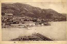 714 - Postal  Monte-carlo  Puerto, Monaco - Monte-Carlo