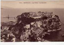 715 - Postal   Monaco, Vista De La Ciudad - Monte-Carlo