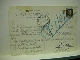 GROTTAGLIE  -- TARANTO  -- V. PETTOGRASSO  -- TIPOGRAFIA - Taranto