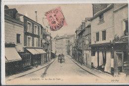 N N 859 A / C P A  -C P A  LISIEUX- (14) LA RUE  DE CAEN - Lisieux