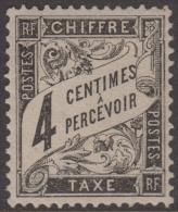 4c Duval Neuf * TB (Y&T N° 13 , Cote: 110€) - 1859-1955 Neufs