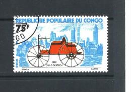 CONGO - Y&T N° 380° - Ancienne Voiture - C. Et F. Duryea - Congo - Brazzaville