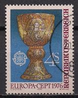 Österreich / Austria (1976)  Mi.Nr.  1516  Gest. / Used  (ca15)  EUROPA - Europa-CEPT