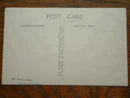 LAVENHAM (?) Identify Peter & Paul (?) - Anno 19?? ( zie foto voor details ) !!