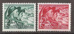 DR 1938 // Mi. 684/685 ** - Duitsland