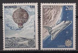 Monaco  (1983)  Mi.Nr.  1579 + 1580  ** / Mnh  (ca04)  EUROPA - Europa-CEPT