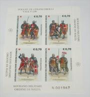 SMOM 2013 - COSTUNI E UNIFORMI DELLO SMOM COMPLETE SET MNH** EMISSION 450 15 JULY 2013 - Sovrano Militare Ordine Di Malta