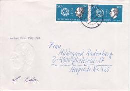 DDR Bedarfs-Brief Mi.-Nr. 2825 - Stempel Tangerhütte (0616) - Briefe U. Dokumente