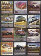 PAKISTAN MATCHBOX LABEL - LAND MASTER MOTOR CAR SERIES 36 DIFFERENT BIG SIZE, 4 Scan - Matchbox Labels
