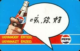PEPSI * COLA * SOFT DRINK * HELLO * CALENDAR * FAJV 1984 5 * Hungary - Calendarios