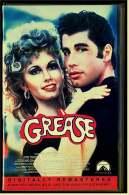 VHS Video  , Grease  -   Mit John Travolta, Olivia Newton John, Stockard Channing  -  Von 1999 - Musikfilme