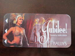 Hotel Key Card,Bally's Las Vegas(corner A Little Damaged) - Tarjetas Telefónicas