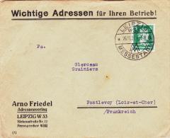 Leipzig 1927 - Messestadt MM - Brief Cover Lettre - Deutschland