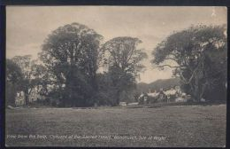WA701 ISLE OF WIGHT - VIEW FROM THE FIELD , CONVENT OF THE SACRED HEART . BONCHURCH - Inghilterra