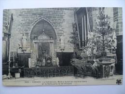 56 : Vannes - La Cathédrale - Maître Autel En Marbre Blanc Et Le Reliquaire De St-Vincent - (n°508) - Vannes