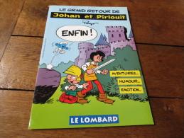 Dossier De Presse JOHAN ET PIRLOUIT - Livres, BD, Revues