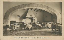 Ciudad Rodrigo- Comedor Del Hotel Turismo Libreria De Cejudo. Suc. De Enrique Cuardrado Ciudad Rodrigo - Salamanca