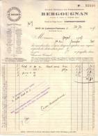 PUY DE DÔME -CLERMONT FERRAND - BERGOUGNAN - PNEUS - AUTOMOBILE - 1911 - Cars