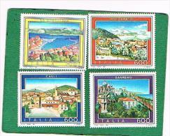 ITALIA REPUBBLICA - UNIF. 1972.1975 - 1991 TURISTICA  - NUOVI **(MINT) - 6. 1946-.. Repubblica