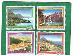 ITALIA REPUBBLICA - UNIF. 2041.2044 - 1992 TURISTICA  - NUOVI **(MINT) - 6. 1946-.. Repubblica