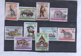 HUNGRIA Nº 1413 AL 1422 - Elefantes