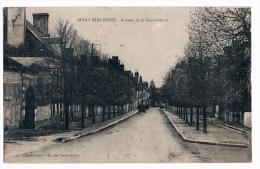 10- MERY SUR SEINE. Avenue De La Gendarmerie. RARE. - Otros Municipios