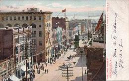 Hasting Street, Vancouver, B. C. Postcard R136 - Vancouver