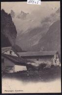 Pâturage Alpestre Avec Ferme Et étables, En Valais Vers 1904 : Vache (race D'Hérens ?) (11´843) - VS Valais