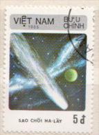 Vietnam CTO Stamp - Space