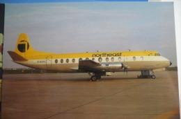VICKERS VISCOUNT     NORTHEAST   AIRLINES   G AOYL - 1946-....: Modern Era
