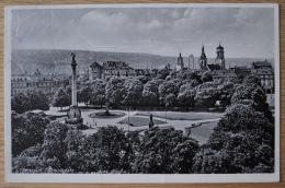 Stuttgart 1939, Schloßplatz, Drittes Reich: Das Deutsche Rote Kreuz Immer Bereit. Hilf Mit! - Stuttgart