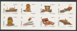 Spain 2008 Edifil # 4168C.  Juguetes  Booklet/Carnet, MNH (**) - 1931-Hoy: 2ª República - ... Juan Carlos I