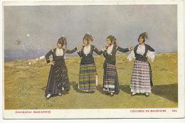 Costume De Macedoine 304 Greek Card - Macédoine