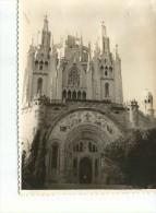 BARCELONA  LA IGLESIA DE TIBIDALO    PEQUEÑA FOTOGRAFIA  CIRCA 1950   OHL - Places