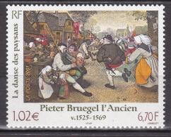 France - 2001 - Oeuvres D´ Art - Bruegel L´ Ancien -  N° 3369  - Neuf ** - MNH - Non Classificati
