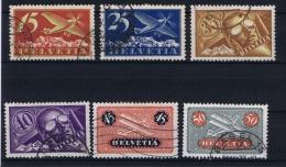 Switserland/Schweiz:  1923 Mi 179-184 Used