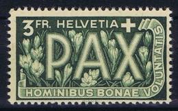 Switserland/Schweiz:  1945 Mi 457  MH/*