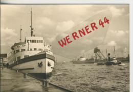 Hamburg V. 1964  Der Hafen  -- Siehe Foto !!  (27971) - Deutschland