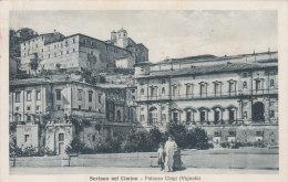 Soriano Nel Cimino-palazzo Chigi-viaggiata 1937-f.p - Viterbo