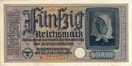 50 Reichsmark Very Good Condition. (Paypal) - 50 Reichsmark