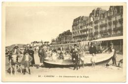 CABOURG Les Amusements De La Plage Anes  (Artaud) Calvados (14) - Cabourg
