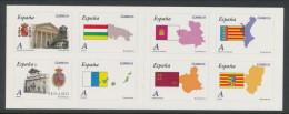 Spain 2010 Edifil #  4524-4531. Autonomias,  Booklet/Carnet, MNH (**) - 2001-10 Nuovi