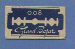 Une Lame De Rasoir GRAND-BAZAR  (L128) - Scheermesjes