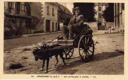 41 - VENDOME - Attelage à Chien - Vendome