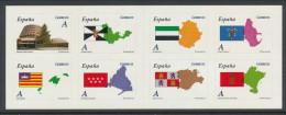 Spain 2011 Edifil # 4613-4320. Autonomias, Booklet/Carnet, MNH (**) - 2011-... Nuovi & Linguelle
