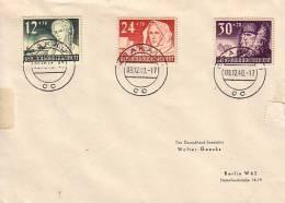 GG Brief Mif Minr.56-58 Krakau 9.12.40 - Besetzungen 1938-45
