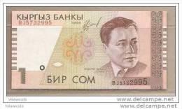 Kirghizistan  - Banconota Non Circolata Da 1 Som - 1999 - - Kirghizistan
