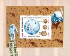 BULGARIA /Bulgarie  1984 SPACE S/S- MNH - Space