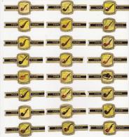 Serie  24   Sigarenbanden   Nicoleto   Pijpen -Pipes - Bagues De Cigares