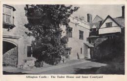 C1950 ALLINGTON CASTLE - THE TUDOR HOUSE AND INNER COURTYARD - England